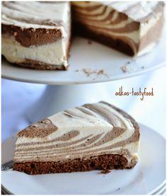 .. chute a vône mojej kuchyne...: Zebra torta kakaová