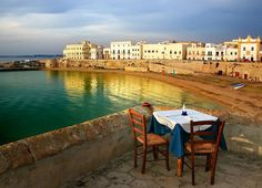 Table for two  Gallipoli, Italy  Italy   #puglia