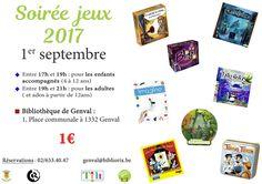 Soirée jeux 2017 à la Bibliothèque communale de Rixensart