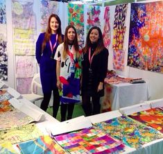 Premier Vision (International trade fair) © Swansea College of Art UWTSD Surface Pattern Design
