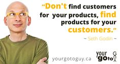 Fantastic Seth Godin quote about customers and products Affiliate Marketing, Social Media Marketing, Online Marketing, Digital Marketing, Seth Godin Quotes, Simon Sinek Quotes, Small Business Web Design, Herbalife 24, Grant Cardone