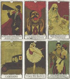 panic at the disco/ a fever you can't sweat out tarot cards