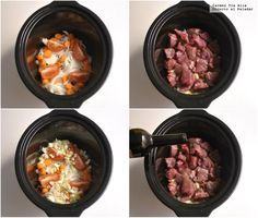 Cocina – Recetas y Consejos Slow Cooker Recipes, Crockpot Recipes, Recetas Crock Pot, Spanish Dishes, Multicooker, Slow Food, Light Recipes, Copycat Recipes, Food And Drink