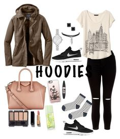 """""""Untitled #100"""" by titah-familia on Polyvore featuring Givenchy, New Look, NIKE, Banana Republic, Accessorize, Casetify, Maybelline, Chanel, Elizabeth Arden and Kate Spade"""