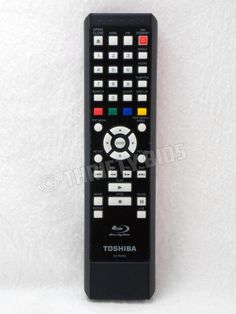 Genuine OEM Toshiba SE-R0363 Blu Ray Disc Remote Control 79104846 RT79104846 #Toshiba