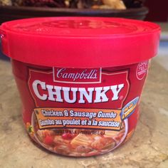 Low calorie, high fiber meal. Campbell's Chunky. Only 218 calories & 5g of fiber. I have more low calorie, high fiber examples on my free Pinterest acct called Global Transformation Project. #lowcal #lowcarb #lowcalorie #fiber #fiber #campbell #soup #weightloss #weightlossjourney #loseweight #diet #health #healthy #healthyfood #healthylife #healthychoices #healthychoices #healthyeating #healthyeating #healthyliving #healthylifestyle
