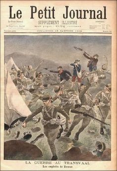 Boer forces surprising encampment of British soldiers, 1901 (from Le Petit Journal Illustré) Lion Face Drawing, Ww2 Posters, British Soldier, British Army, African Paintings, New York Life, Military Art, Military History, Image Archive
