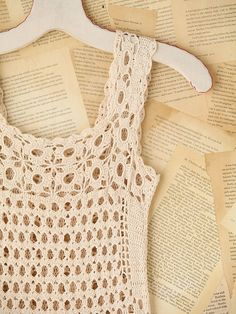 Crinochet: Free People Connected in Crochet Fringe Dress