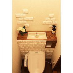 Bathroom/モニター/賃貸/マーチソン・ヒューム/タンクレス DIY/山善...などのインテリア実例 - 2016-09-11 13:34:36