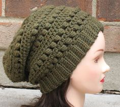 PDF CROCHET PATTERN Instant Download - Aimee Slouchy Beanie Hat -  Permission to Sell.  4.50 0ff0fb18bba