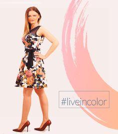 Stylish Outfits, Flower Power, Personal Style, Feminine, Glamour, Elegant, Clothing, Color, Dresses