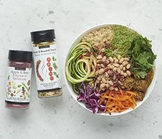 Nourish Goddess Bowl - Fit for a goddess, this nourish bowl will have you glowing on the inside and out. Epicure Recipes, Lunch Recipes, Dinner Recipes, School Lunch Menu, Vegetarian Menu, Fussy Eaters, Specialty Foods, Food Categories, Dinner Menu