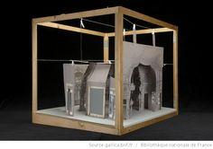 [La Maschera ou les nuits de Venise : 2 projets de maquettes construites de l'acte III, tableau 3 / par Philippe Chaperon] - 2