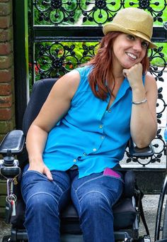 Heidi McKenzie Makes Waves With Wheelchair Fashion.  >>> See it. Believe it. Do it. Watch thousands of spinal cord injury videos at SPINALpedia.com