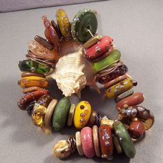 Lampwork Beads Designer Collection by Mona  Warm by MonasLampwork, $98.00