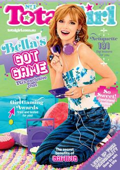 total girl's cover: Bella Thorne