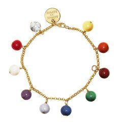 Charity Childhood Foundation Bracelet in gold - bleu shop