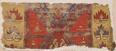 An Early 18th Century Central Anatolian Probably Cappadokia Area Rug Fragment 47 x 110 cm