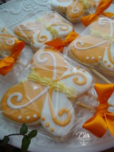 Cookies Decorados - Borboletas Butterfly Cookies