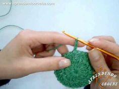 Como fechar a carreira em crochê circular? - Aprendendo Crochê - YouTube