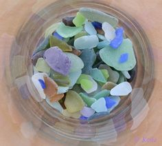 sea glass crafts | ... : Magpies, for collection of bright shiny glass data. Omni-thanks