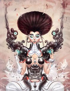 Cyborg-Esque Illustrations - Yu Cheng Hong Creates a Surreal Universe (GALLERY)