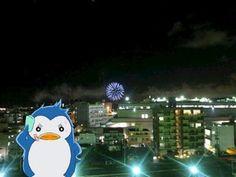 浦添市のてだこ祭り。花火大会始まった。明日もあるよ!