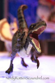 VELOCIRAPTOR from JURASSIC WORLD - Toy Fair 2015