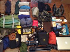 In My Bag - Aim To Travel Blog What to pack if backpacking around Europe