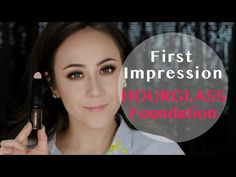 41€ Hourglass Vanish Seamless Finish Foundation Stick | First Impression | Hatice Schmidt - YouTube
