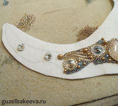 Шкатулка - Blue Shade + мини МК как применить в вышивке мелкие кристаллы swarovski