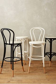 Scrolled Bentwood Barstool