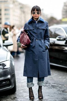 In Paris, Puffers Are Popular Off The Runway, Too - Fashionista