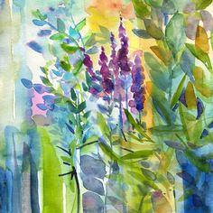 Watercolor by Diana Fegredo