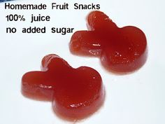 In the Kitchen with Audrey: Homemade Fruit Snacks: Updated