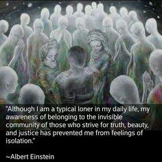 Loner who belongs Spiritual Awakening, Spiritual Quotes, Wisdom Quotes, Me Quotes, Spiritual Gangster, Citation Einstein, Einstein Quotes, Great Quotes, Inspirational Quotes