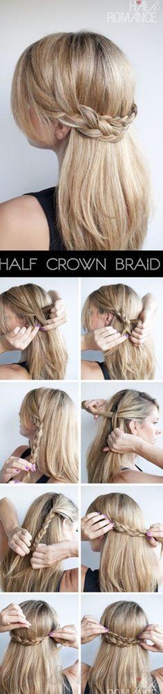 Idées Coupe cheveux Pour Femme  2017 / 2018   Image   Description   Les meilleurs tutoriels sur les cheveux-20-utiles-sur-Pinterest-16