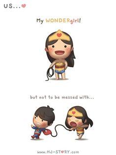 My wondergirl....