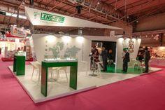 Stand design |Leng-d'Or | Alimentaria 2014 | Barcelona by QUAM Brand Environment Design, via Behance