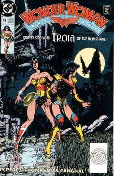 Wonder Woman #47 - Comic Book Cover