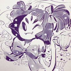 Muffet's day! x3  #internationalwomensday #undertale #muffet