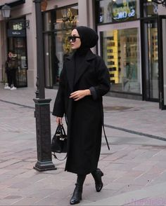 Casual Hijab Outfit, Hijab Chic, Hijab Dress, Dress Casual, Modern Hijab Fashion, Muslim Fashion, Modest Fashion, Outfits Otoño, Grunge Outfits