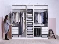 L'art de ranger son dressing #IKEAHome #IKEA #deco #decoration #inspiration #design #homedeco #homedesign #homesweethome #instadeco #instahome