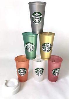 Reusable Cup-No Longer Sold//Ltd 1 Single BLACK STARBUCKS Limited Ed Edition