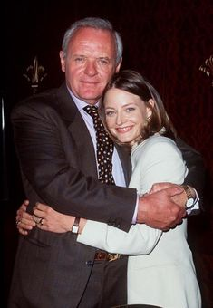 Jodie Foster and Anthony Hopkins! I adore both of them.