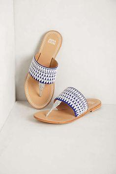 Anthropologie - Needlework Sandals