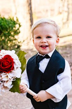 You will get some really adorable pictures with ring bearer and flower girl! Baby Wedding Outfit, Wedding Attire, Wedding Dresses, Sons Rings, Ring Bearer Outfit, Cute Pictures, Photo Ideas, Wedding Photos, Relationships