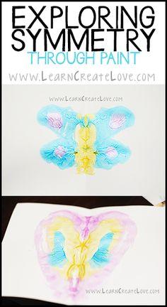 Symmetry Painting | LearnCreateLove.com