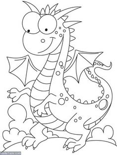 Comparatively a kind looking dragon coloring pages Make your world more colorful with free printable coloring pages from italks. Our free coloring pages for adults and kids. Animal Coloring Pages, Coloring Book Pages, Printable Coloring Pages, Animal Templates, Templates Free, Lilo E Stitch, Dragon Coloring Page, Cute Dragons, Coloring Pages For Kids