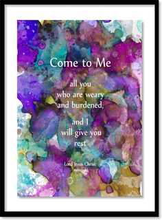 """213.  """"The Great Invitation"""" - with a promise. . . . Matt Violassi  . . .  layered alcohol inks"""